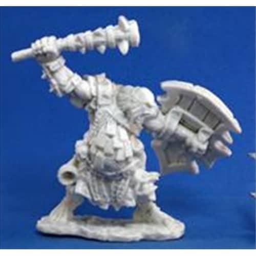 Reaper Miniatures 77105 Bonest50 - Kagunk, Ogre Chieftain Perspective: front