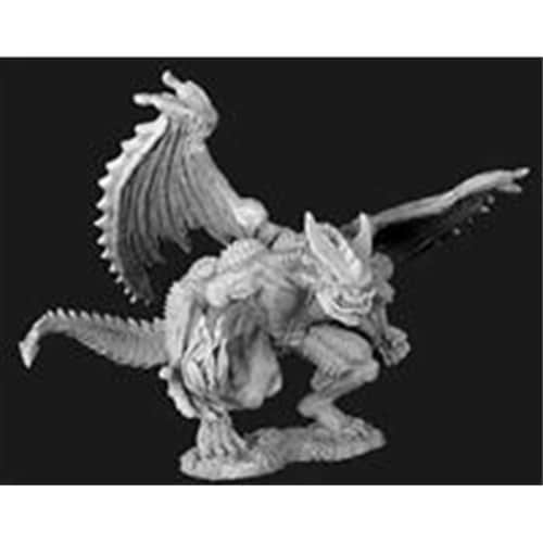 Reaper Miniatures 77112 Bones - Agramon, Pit Fiend Perspective: front