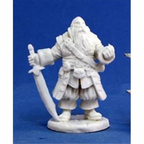 Reaper Miniatures 77132 Bones - Barnabus Frost, Pirate Captain Perspective: front