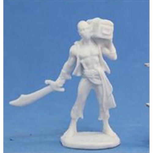 Reaper Miniatures 77134 Bones - Hajad, Pirate Perspective: front