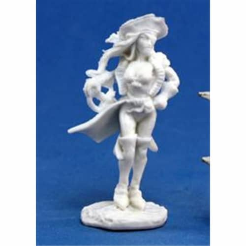 Reaper Miniatures 77135 Bones - Mariel Twinspar, Female Pirate Perspective: front