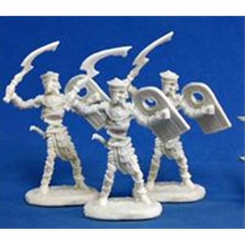Reaper Miniatures 77146 Bones - Mummy Warrior Perspective: front
