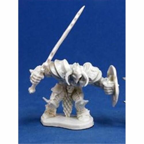 Reaper Miniatures 77150 Bones - Ragnaros, Evil Warrior Perspective: front