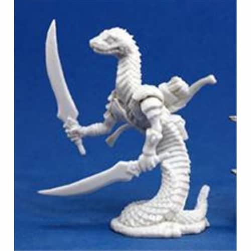 Reaper Miniatures 77153 Bones - Snakeman Perspective: front
