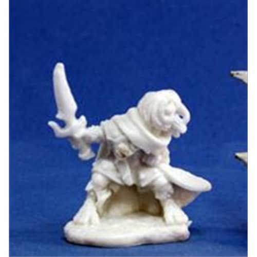 Reaper Miniatures 77165 Bonest50 - Hellakin Goregutter, Halfling Perspective: front