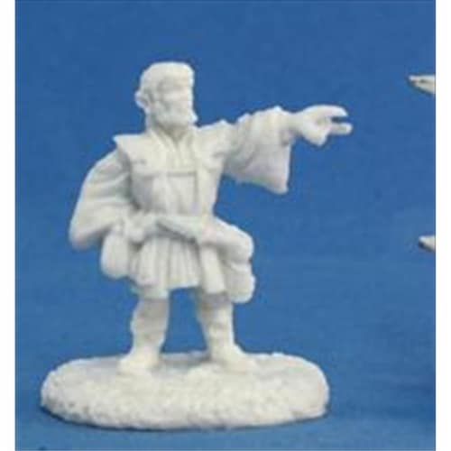 Reaper Miniatures 77166 Bones - Balto Burrowell, Gnome Wizard Perspective: front