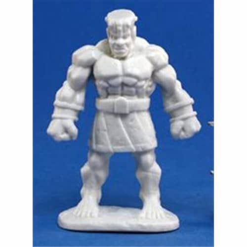 Reaper Miniatures 77171 Bones - Stone Golem Perspective: front