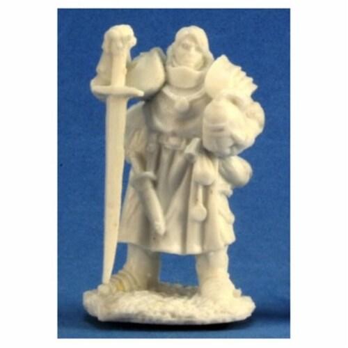 Reaper Miniatures REM77197 Bones-Erick, Paladin Initiate Perspective: front