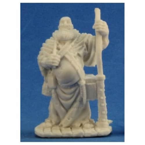 Reaper Miniatures REM77206 Bones Friar Stone Miniature Perspective: front