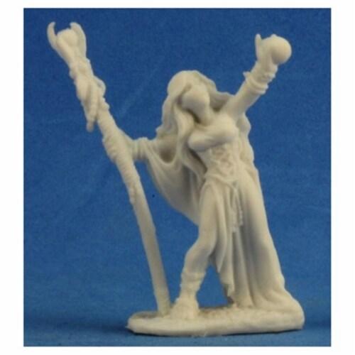Reaper Miniatures REM77210 Bones Sarah the Seeress Miniature Perspective: front