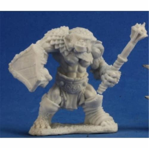 Reaper Miniatures REM77232 Bones-Mogg, Bugbear Warrior Perspective: front