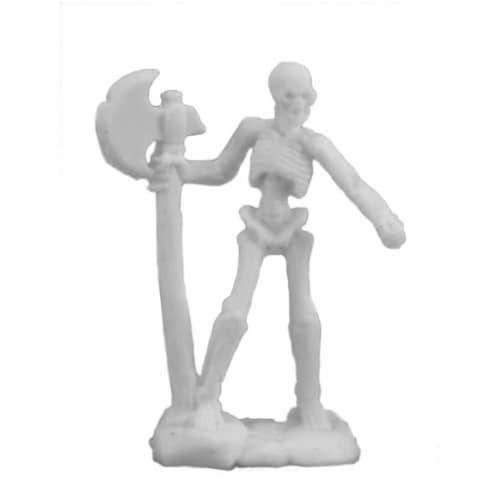 Reaper Miniatures REM77243 Bones Skeleton Warrior Axeman Miniature Reaper - Set of 3 Perspective: front