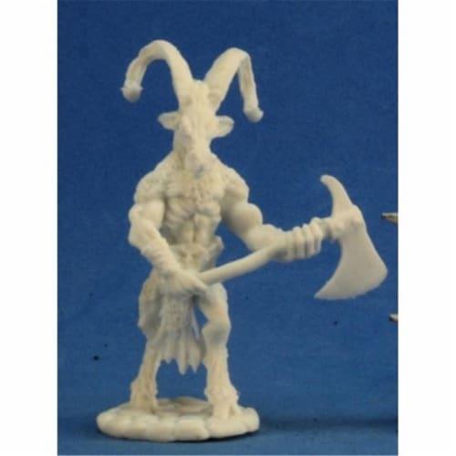 Reaper Miniatures REM77253 Bones-Beastman Warrior 2 Perspective: front