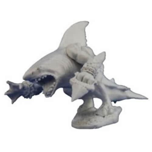 Reaper Miniatures REM77278 Bones-Karnege Gorefathom, Sharkman Perspective: front