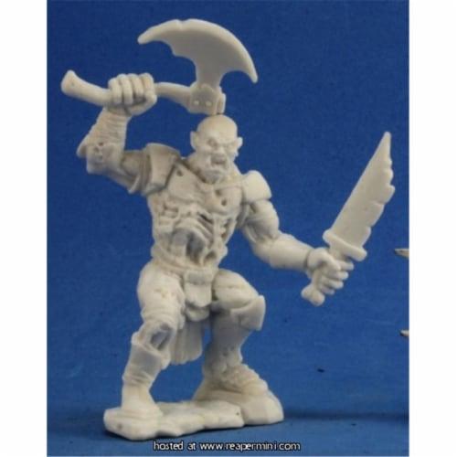 Reaper Miniatures REM77284 25mm Scale Zombie Ogre - Bob Ridolfi Perspective: front
