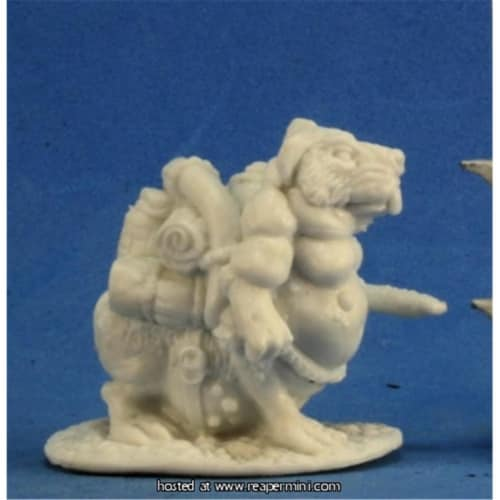 Reaper Miniatures REM77297 25mm Scale Packrat - Jason Wiebe Perspective: front