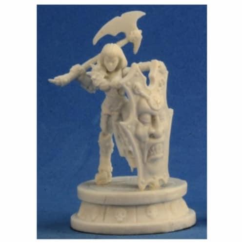 Reaper Miniatures REM77299 Bones Female Antipaladin Miniature Reaper Perspective: front