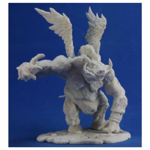 Reaper Miniatures REM77308 Bones Boar Demon Miniature Reaper Perspective: front