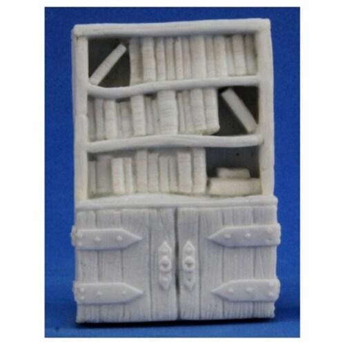 Reaper Miniatures REM77318 Bones Bookshelf Miniature Perspective: front