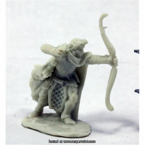 Reaper Miniatures REM77320 25mm Scale Galadanoth, Elf Sniper - Bobby Jackson Perspective: front