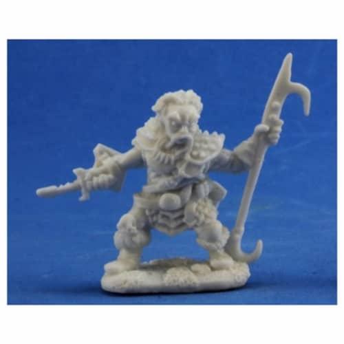 Reaper Miniatures REM77330 Bones Derro Leader Miniature Reaper Perspective: front
