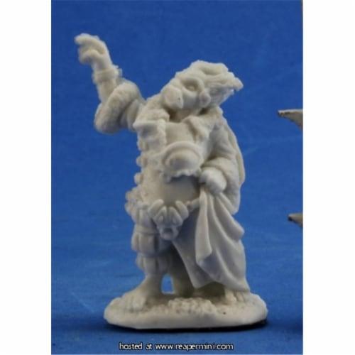 Reaper Miniatures REM77331 25mm Scale Derro Mage, Derek Schubert Perspective: front