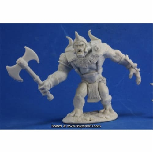Reaper Miniatures REM77333 25mm Scale Mountain Troll - Ben Siens Perspective: front