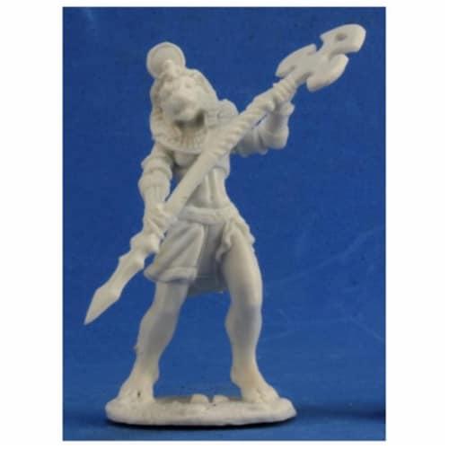 Reaper REM77340 Bones Avatar of Sekhmet Miniature Figures Perspective: front