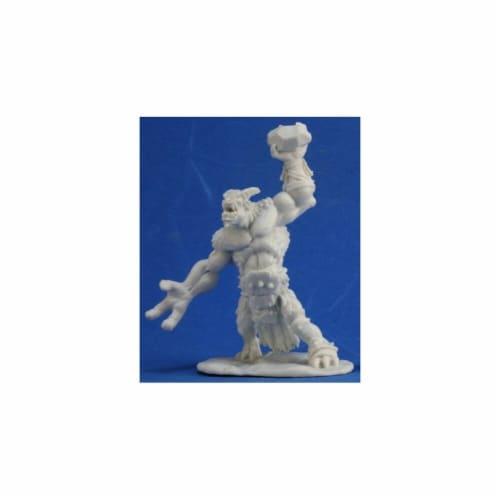 Reaper REM77344 Bones Ice Troll Miniature Figures Perspective: front