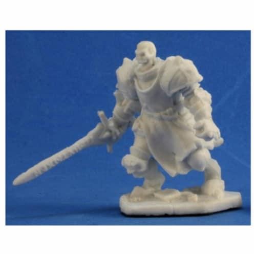 Reaper REM77346 Bones Barrow Warden 1 Miniature Figures Perspective: front