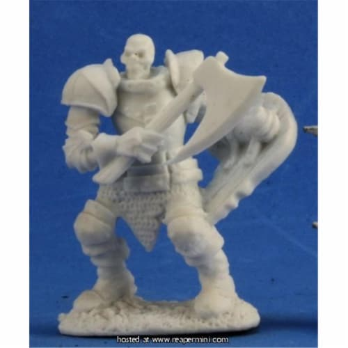 Reaper Miniatures REM77347 25mm Scale Barrow Warden 2 - Kevin Williams Perspective: front