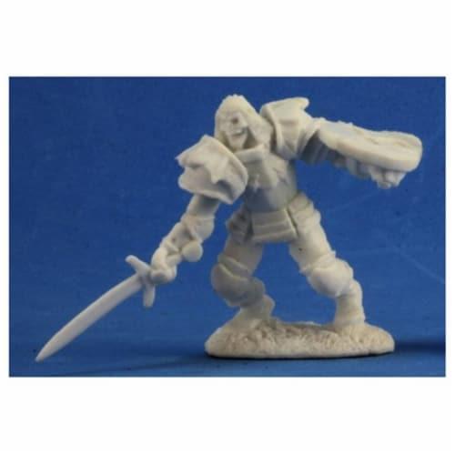 Reaper REM77348 Bones Barrow Warden 3 Miniature Figures Perspective: front