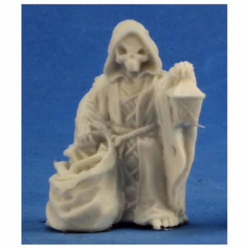 Reaper Miniatures REM77360 Bones - Mr. Bones with Lentern Miniature Reaper Perspective: front