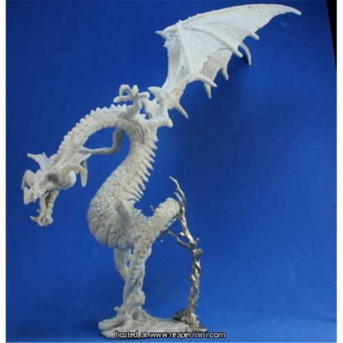 Reaper Miniatures REM77361 25mm Scale Verocithrax, Abyssal Dragon - Werner Klocke Perspective: front