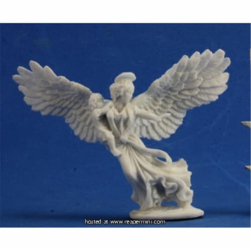 Reaper Miniatures REM77365 25mm Scale Angel of Protection - Julie Guthrie Perspective: front