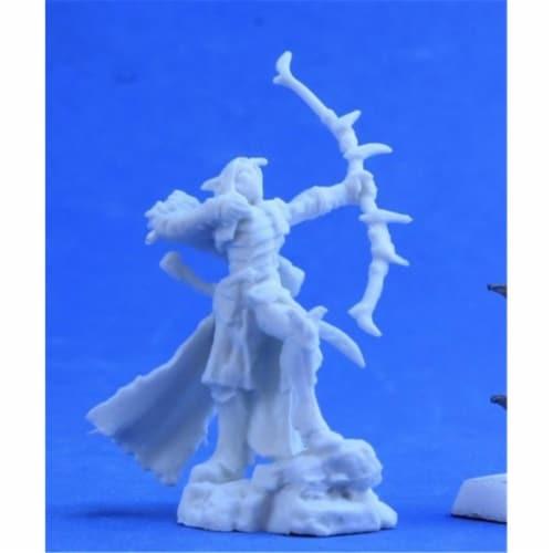 Reaper Miniatures REM77384 Bones-Arathanel, ELF Ranger Perspective: front