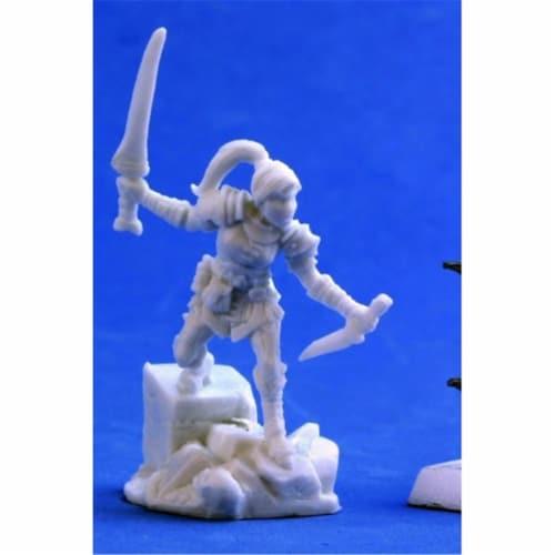 Reaper Miniatures REM77387 Bones-Lanelle, Half-ELF Rogue Perspective: front