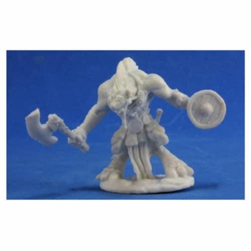 Reaper Miniatures REM77388 Bones Gnoll Warrior Miniature Reaper Perspective: front