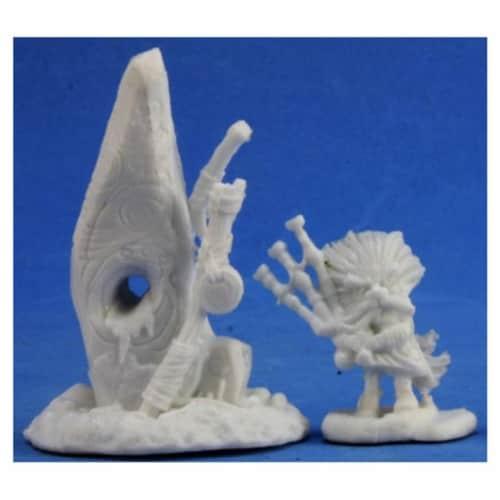 Reaper Miniatures REM77390 Bones Familiar & Stone Miniature Reaper Perspective: front