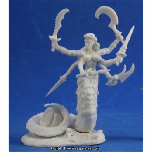 Reaper Miniatures REM77393 25mm Scale Avukavali, Snake Demon - Bobby Jackson Perspective: front