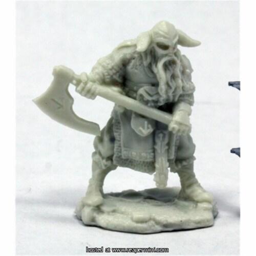 Reaper Miniatures REM77399 25mm Scale Sigurd, Viking - Werner Klocke Perspective: front