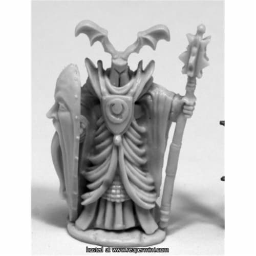 Reaper Miniatures REM77408 25mm Athak, Undead Knight - Bobby Jackson Perspective: front