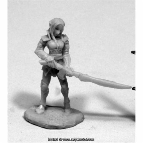Reaper Miniatures REM77409 25mm Scale Fiara, Elf Heroine - Werner Klocke Perspective: front