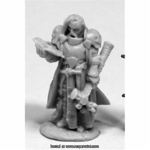 Reaper Miniatures REM77414 25mm Scale Halbarad, Cleric - Werner Klocke Perspective: front