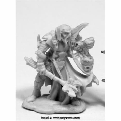 Reaper Miniatures REM77419 25mm Scale Balthon, Evil Cleric - Werner Klocke Perspective: front