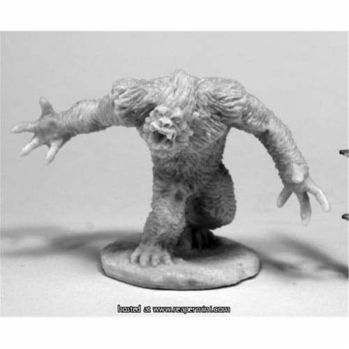 Reaper Miniatures REM77436 25mm Scale Yeti Shredder Perspective: front