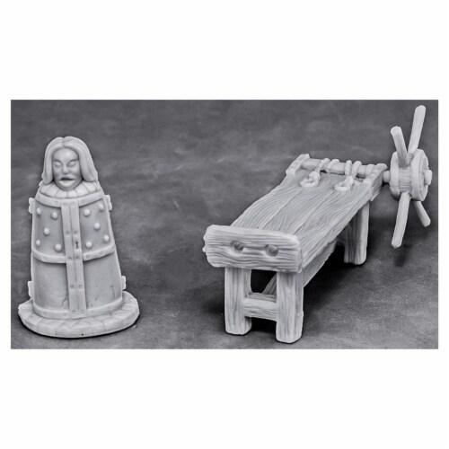 Reaper Miniatures REM77443 Bones - Torture Equipment 2 W3 Reaper Miniatures Perspective: front