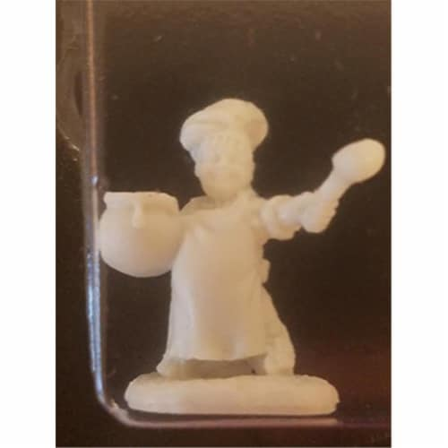 Reaper Miniatures REM77462 28mm Dark Heaven Bones Halfling Cook Pack Mint of Miniature Games Perspective: front
