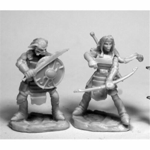 Reaper Miniatures REM77476 28 mm Dark Heaven Bones Hobgoblin Archer W3 Pack Mint of Miniature Perspective: front