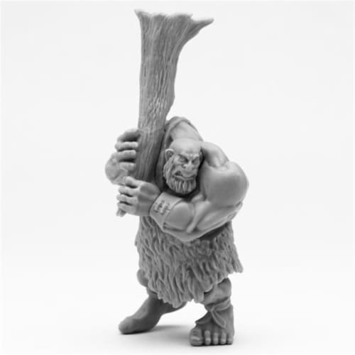 Reaper Miniatures REM77483 Bones Hill Giant Lowland Chief Miniatures Perspective: front